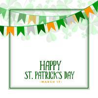 glücklich St. Patrick's Day Feier Hintergrund