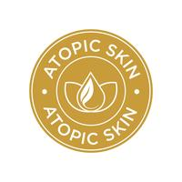 Atopic skin icon.