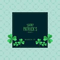 elegant St. Patrick's day background