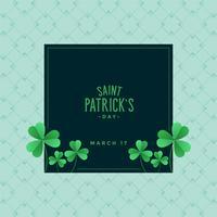 eleganter St Patrick Tageshintergrund