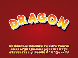 Alfabeto de dibujos animados