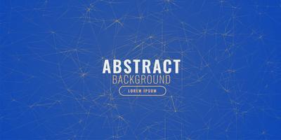 abstracte blauwe achtergrond met fractal lijnen