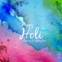 Abstrakter glücklicher schöner Hintergrund von Holi