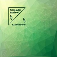 Fundo poligonal triangular