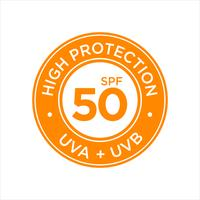 UV, sun protection, high SPF 50  vector