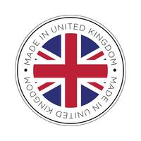 Made in United kingdom flag icon.