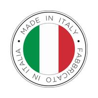 made in italy flag icon.