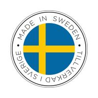 Made in Sweden flag icon.