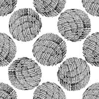 Seamless stylish hand drawn pattern.