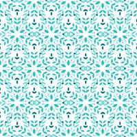 Flower seamless pattern. vector