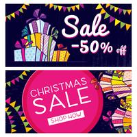 Black Friday. Banner with the sale