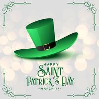 realistische Koboldmütze für St. Patrick's Day
