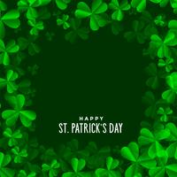 clover leaves background for St. Patrick's day