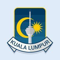 Schöner Kuala Lumpur-Vektor