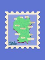 Bela Kuala Lumpur Vector