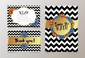 casamentos, salvar o convite da data, RSVP e obrigado