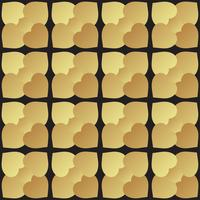 Universal black and gold seamless pattern tiling.