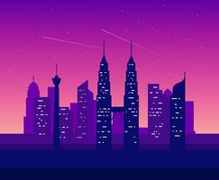 Kuala Lumpur Illustration