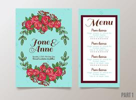 weddings, save the date invitation, RSVP and thank you cards.
