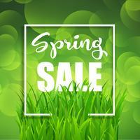 Sfondo di vendita di primavera