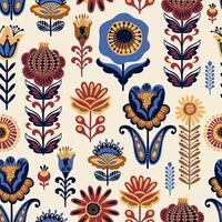 Motif sans soudure floral populaire. Dessin abstrait moderne