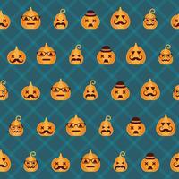 Halloween achtergrond. Naadloos patroon.