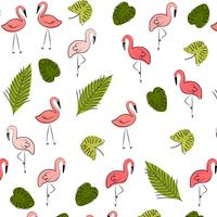 Vector summer pattern background with fruits