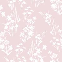 Floral abstract seamless pattern. Vector design for different surfases.