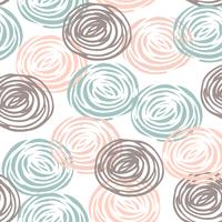 Abstract floral seamless pattern with roses.