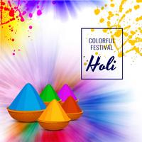 Abstract Happy Holi festival celebration background