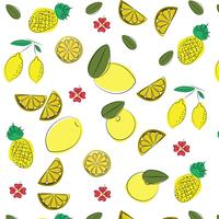 Vector summer pattern background