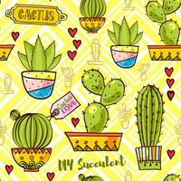 Trend der Kaktusmuster