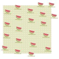 Watermelon Pattern vector design illustration template