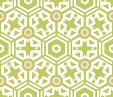 Textura sem costura com ornamentos geométricos.