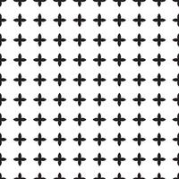 Universal  black and white seamless pattern (tiling).