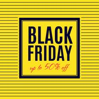 Design del poster di vendita del Black Friday