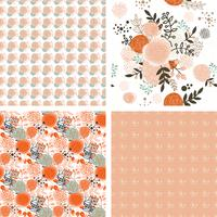 Shabby Chic Rose Patterns