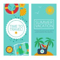 Concepts and banners  of travel, summer