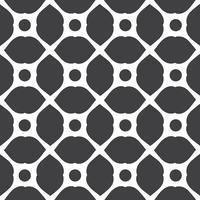 Monochrome geometric seamless universal patterns tiling.