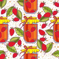 jam seamless pattern