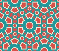 Seamless pattern geometric  texture .  vector