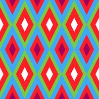Seamless geometric rhombus