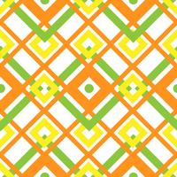 Seamless geometric pattern with square