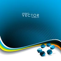 Vector background with abtrsct 3d circle element.