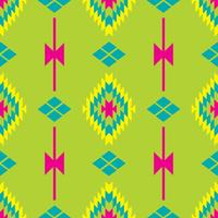 Mexicaans Folkloric tracery textiel naadloos patroon