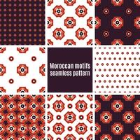 Set of Arabic seamless patterns,