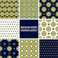 Portuguese Azulejos set of patterns