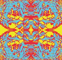Abstract seamless pattern psychedelic background.