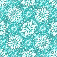 Motifs floraux sans soudure colorés