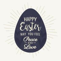 Vector Easter Egg achtergrond
